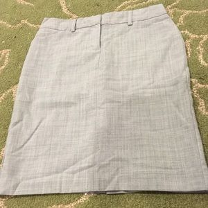 Express Design Studio Editor Gray Skirt in Size 0